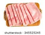 Squared Slice Of Lean Pork Ham