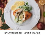 Постер, плакат: Chicken Kiev breaded chicken