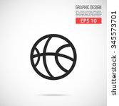 basketball ball icon. black...