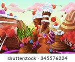 sweet vector background
