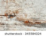 White Peeled Brick Wall Texture ...