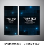 brochure business design... | Shutterstock .eps vector #345595469