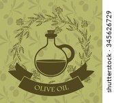 olive oil design  vector... | Shutterstock .eps vector #345626729
