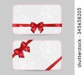 set of ornamental card... | Shutterstock .eps vector #345658205