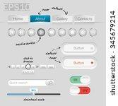 ui controls web elements  white