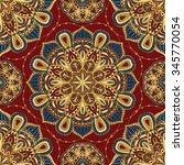 seamless  vector  bright ... | Shutterstock .eps vector #345770054