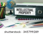 intellectual property ... | Shutterstock . vector #345799289