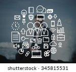 teamwork collaboration unity...   Shutterstock . vector #345815531