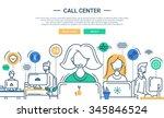 illustration of vector modern... | Shutterstock .eps vector #345846524