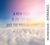 inspiration motivational life...   Shutterstock . vector #345863621