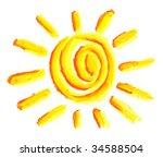 sun symbol | Shutterstock . vector #34588504