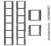 films backgrounds | Shutterstock . vector #34588987