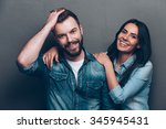 we are better when we together. ... | Shutterstock . vector #345945431