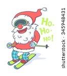 vector illustration of funny... | Shutterstock .eps vector #345948431