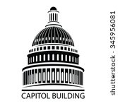 capitol building | Shutterstock .eps vector #345956081