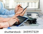 accounting  | Shutterstock . vector #345957329