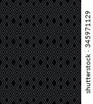 seamless black diamond... | Shutterstock .eps vector #345971129