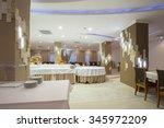 interior of a banquet hall | Shutterstock . vector #345972209