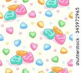 Seamless Pattern For Valentine...