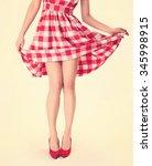 Beautiful Young Woman Wearing...