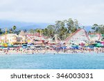 santa cruz  california  usa  ... | Shutterstock . vector #346003031