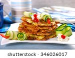 Stack Of Zucchini And Potato...