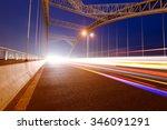 the night of modern bridge  | Shutterstock . vector #346091291