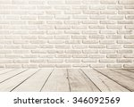White Brick Wall Texture...