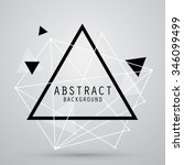vector abstract background with ... | Shutterstock .eps vector #346099499