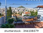 view to athens city from a...   Shutterstock . vector #346108379