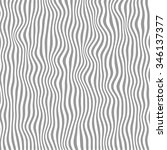 wavy black and white stripes.... | Shutterstock .eps vector #346137377