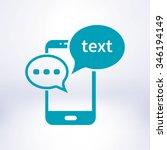 mobile chatting icon.mobile...