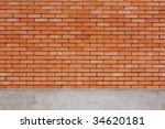 brick wall background | Shutterstock . vector #34620181