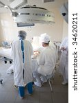 surgeons team at work   Shutterstock . vector #34620211