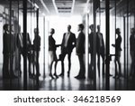 Black White Image Business People - Fine Art prints