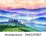 Italy Mountains Landscape....