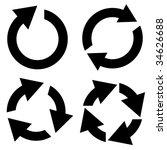 arrow set vector. set of design ...   Shutterstock .eps vector #34626688