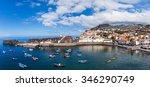 camara de lobos is a city in... | Shutterstock . vector #346290749