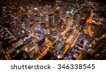 Aerial View Of Toronto City At...