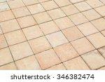 brick sidewalks background | Shutterstock . vector #346382474