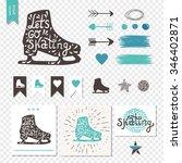let's go skating typography.... | Shutterstock .eps vector #346402871