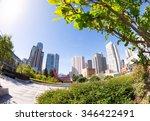 yerba buena gardens park during ... | Shutterstock . vector #346422491