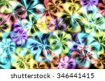 Abstract Colorful Light Design...