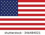 grunge usa flag.american flag... | Shutterstock .eps vector #346484021