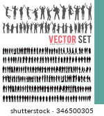 vector business people... | Shutterstock .eps vector #346500305