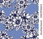 abstract elegance seamless... | Shutterstock . vector #346503641