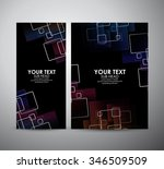 abstract square pattern.... | Shutterstock .eps vector #346509509