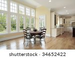 eating area in new construction ... | Shutterstock . vector #34652422