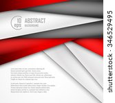 abstract background of red ... | Shutterstock .eps vector #346529495