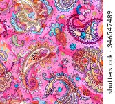 colorful seamless pattern ... | Shutterstock .eps vector #346547489